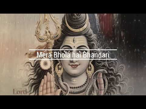 Mera Bhola Hai Bhandari Kare Nandi Ki Sawari