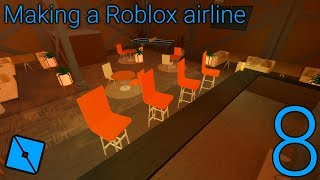 Making a Roblox airline: Episode 8 - We got leaked... (also more Roblox airport development)