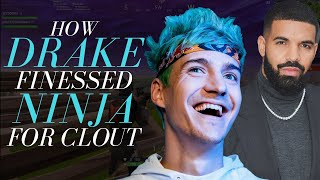 How Drake Finessed Ninja for Clout