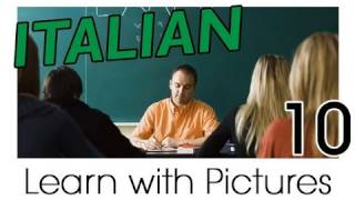 Learn Italian - Italian School Vocabulary