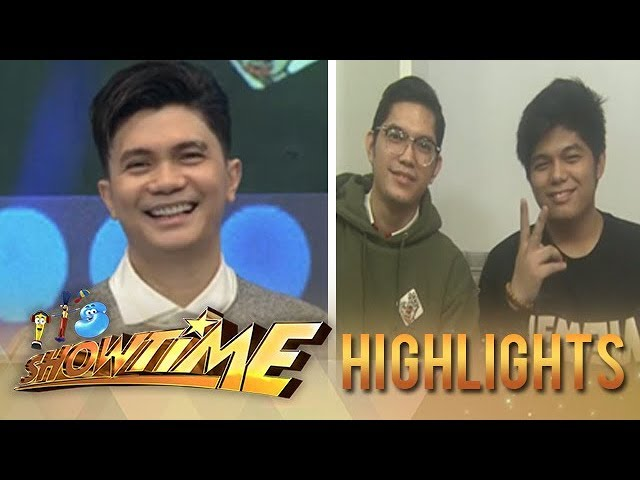 It's Showtime: Vhong receives birthday greeting from his family and friends