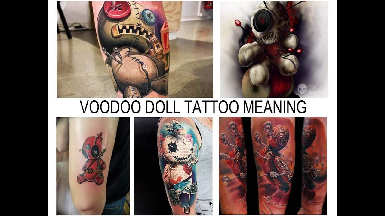 VOODOO DOLL TATTOO MEANING - facts and photos of drawings for the ...