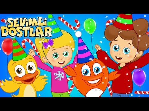 Hadi Gel Yeni Yıl 🎈 (YENİ) | Hoşgeldin 2020! 🎄 | Sevimli Dostlar Bebek Şarkıları | Adisebaba TV
