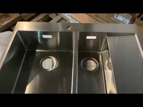 Обзор: мойка для кухни Omoikiri Akisame 78-2-IN-L нержавеющая сталь
