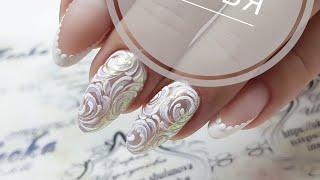 Потрясающие вензеля  ТОП дизайнов ногтей