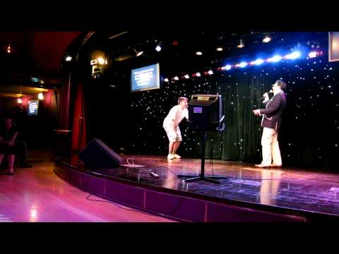 David Rees and Paul F Tompkins singing All These Things That I Have Done on JoCo Cruise Crazy 2