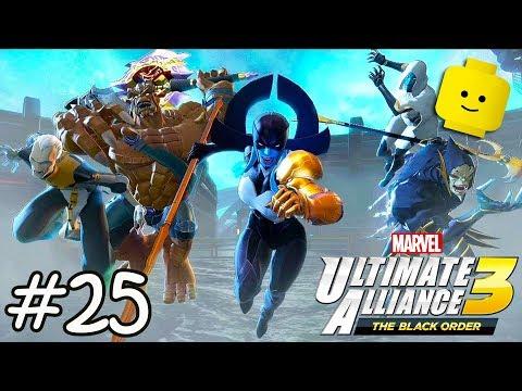 Superheroes Marvel Ultimate Alliance 3: Knowhere - Superhero Videos Games - Part 25 - 동영상