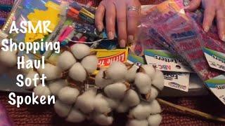 Скачать ASMR Shopping Haul Show Tell Crinkles Sticky Sounds