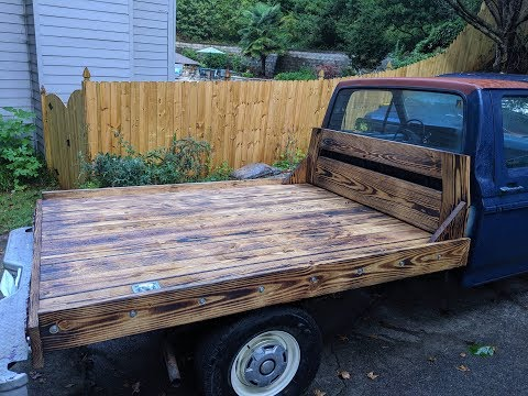 DIY Wood Truck Bed