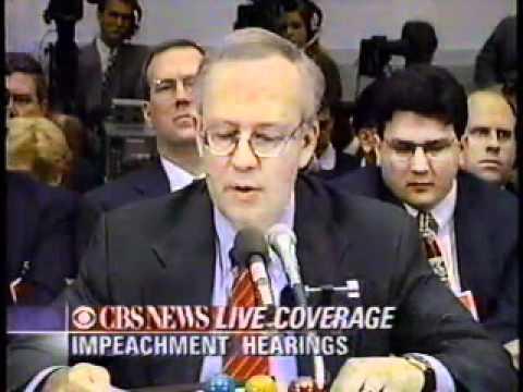 Clinton Impeachment Hearings (Part 1 of 3)