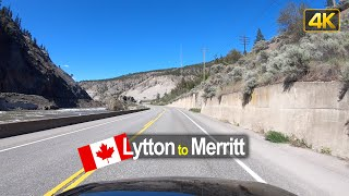 Driving from Lytton to Merritt | British Columbia Canada