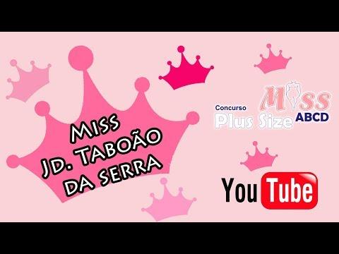 Miss ABCD Plus Size 2019 - Miss Jd. Taboão da Serrra