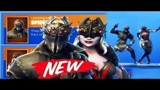 New Spider Knight & Arachne Skins in Fortnite Battle Royale!