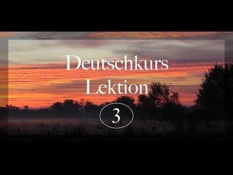 German Lesson 3