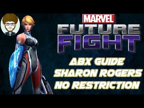 Sharon Rogers Updated ABX Guide[804K] | Marvel: Future Fight