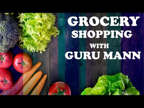 HEALTHY Grocery Shopping Sneak Peak | Guru Mann