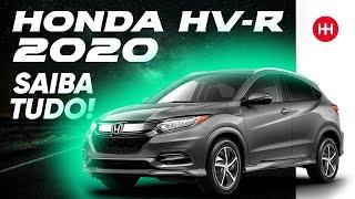 Muito além de um tapa no visual. O Honda HR-V 2019 passou por um re...