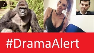 Harambe back from the DEAD #DramaAlert FineBros Copy The Onion ,  legendarylea calls kids Cancer!