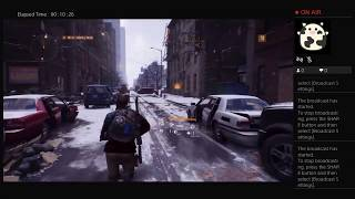 The Division, Part Fifteen, PS4 Live Broadcast, No Commentary, Walkthrough