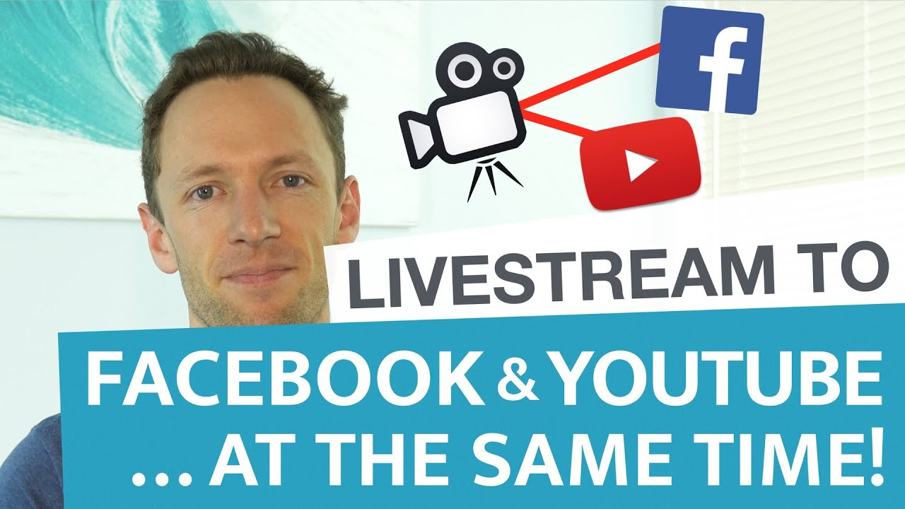 How to Livestream to Facebook and Youtube… AT THE SAME TIME! (Wirecast)