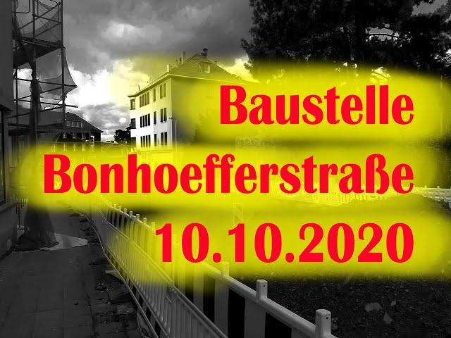 Witten: Baustelle Bonhoefferstraße
