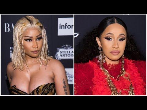 Nicki Minaj Says Cardi B is LYING and Had Her Publicist Filming The Incident hoping Nicki got KO.