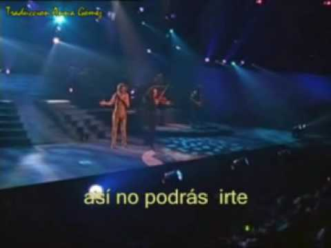 Celine Dion - Live in Menphis 6 - To love you more (traducido)