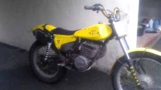 SWM 320TL Trials Motorcycle twinshock