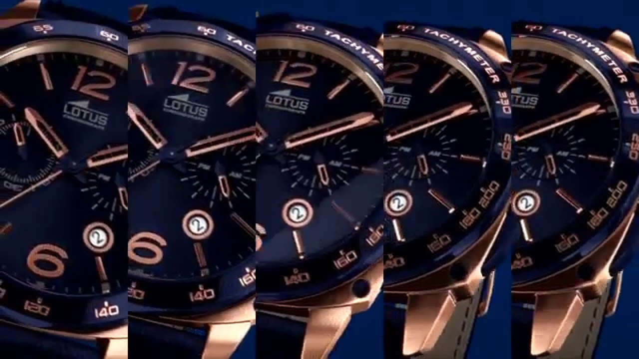 Reloj Lotus para Hombre , Spot TV 2015