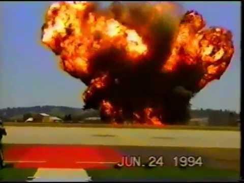 1994 Crash of a B 52 at Fairchild Air Force Base RIP