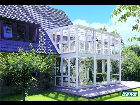wintergarten bauen in m nster nrw youtube. Black Bedroom Furniture Sets. Home Design Ideas