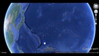 Гигантские квадраты на дне тихого океана