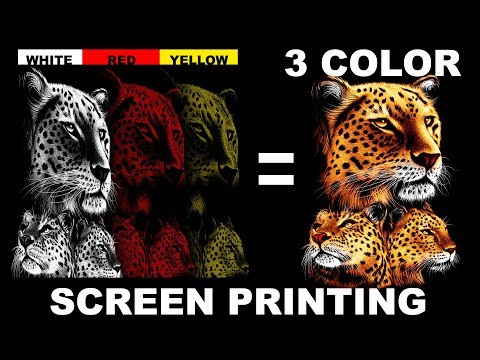 How To Screen print: Make Screens Without Film