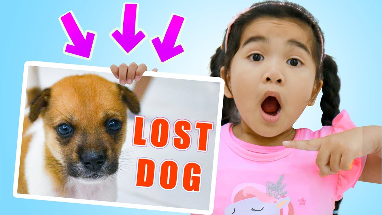 Suri Lost her Puppy Dog | Police Rescues Puppy for Kids