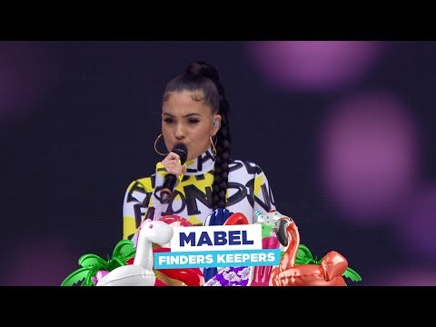 Mabel  'Finders Keepers'  at Capital's Summertime Ball 2018