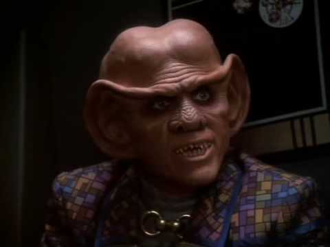 Quark and Rom hit Sisko