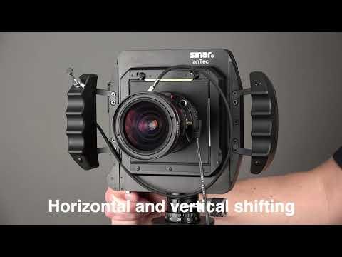 Sinar View Camera - Raise, Fall, Shift With Technical Camera Sinar LanTec