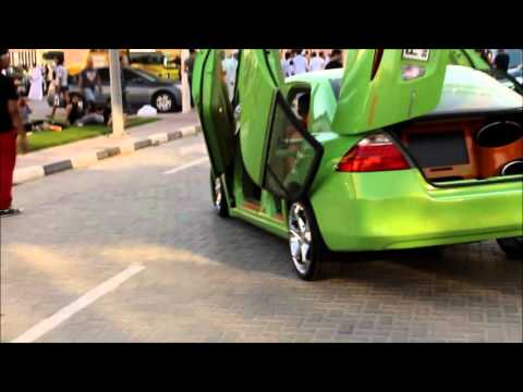 Extreme Car Park Show – Modified Lime Green Accord