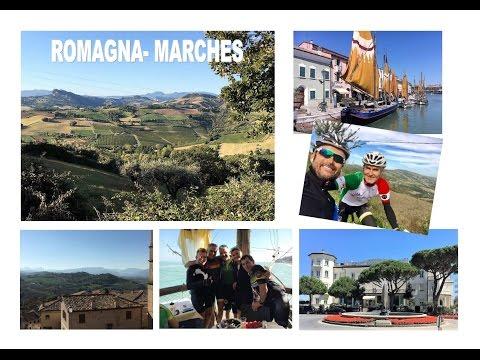 Superbe, la région de Romagna-Marches en vélo