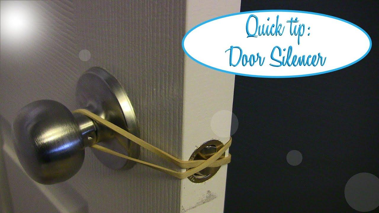 & Quick Tip: Easy Door Silencer - YouTube