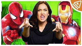Spider-Man v. Iron Man! Movie's NEW Plot & Director (Nerdist News w/ Jessica Chobot)