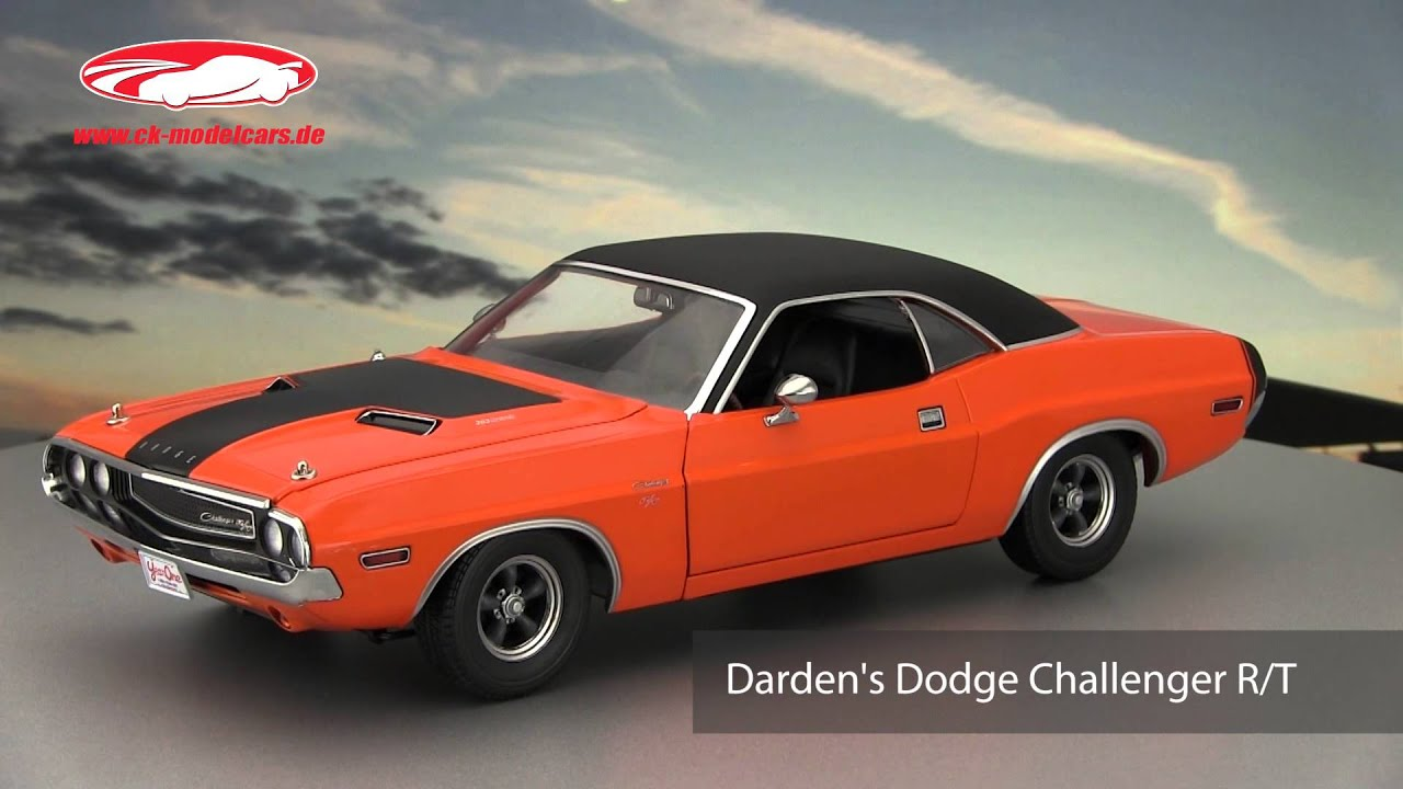 Ck Modelcars Video Darden S Dodge Challenger Rt Fast And