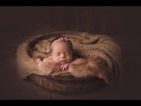 Обработка фотографий новорожденных