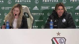 Ricardo Sa Pinto przed meczem Legia Warszawa - Wisła Kraków