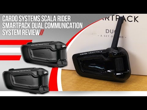 Cardo Systems Scala Rider Packtalk Communication System Review