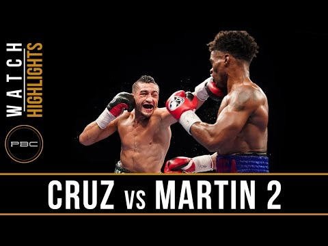 Cruz vs Martin HIGHLIGHTS: June 27, 2017 - PBC on FS1