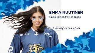 Naisten MM-ehdokkaat esittäytyvät - Hyökkääjä Emma Nuutinen