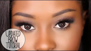 Updated Brow Tutorial | Perfect For Sparse Eyebrows! (2015)