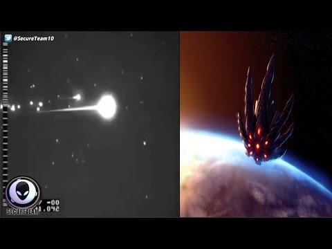 LEAKED Clip Of Alien Satellite Being Shot Down? 3/19/17