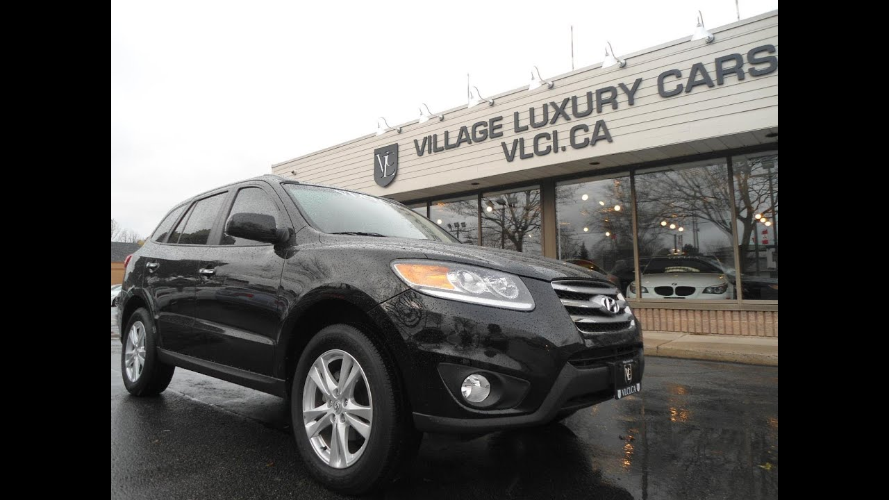 Charming 2012 Hyundai Santa Fe [Limited] In Review   Village Luxury Cars Toronto
